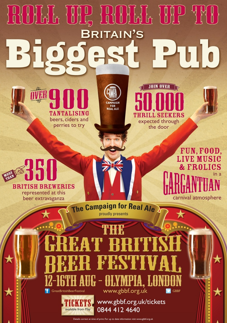 The Great Brisitsh Beer Festival 2014