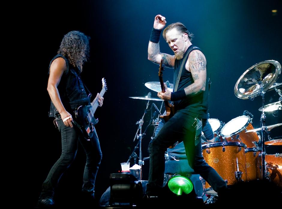 Metallica return to the UK